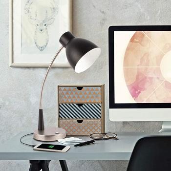 OttLite Adjust LED Desk