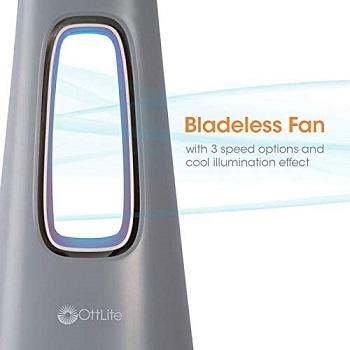 OttLite Cool Breeze LED Fan Lamp