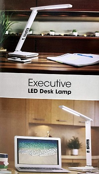 Ottlite Executive Desk Lamp with 2.1A