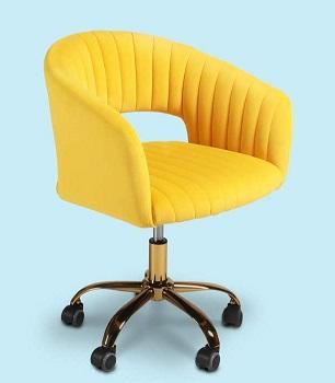 QLMUSE Velvet Desk Chair