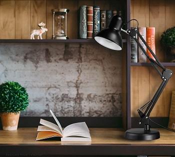 TORCHSTAR Metal Swing Arm Desk Lamps