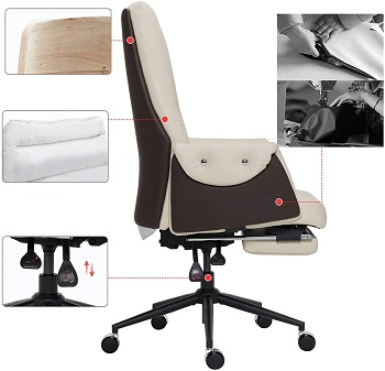 TUOFU Tall Office Chair