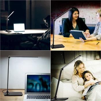 dott arts LED Desk Lamp, Touch Control Desk Lamp