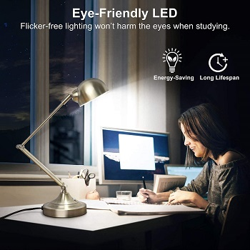 mlambert 3-Color in 1 LED Desk Lamp with