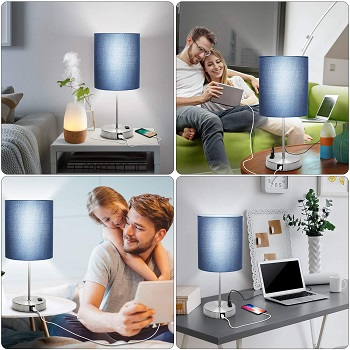 shine tech Touch Control Table Lamp, 3 Way