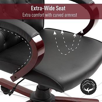 vinsetto executive desk chair