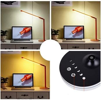 zxs orange desk lamp