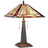 BEST AMBER STAINED GLASS DESK LAMP picks
