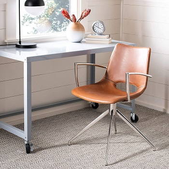 BEST BACK SUPPORT VINTAGE MID CENTURY MODERN OFFICE CHAIR