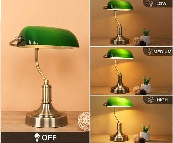 BEST BANKER NOVELTY DESK LAMP