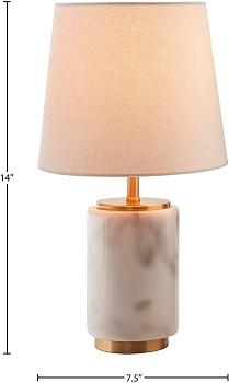 BEST BASE MARBLE DESK LAMP