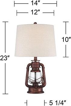 BEST BEDISDE LANTERN DESK LAMP