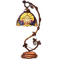 BEST BEDISDE STAINED GLASS DESK LAMP picks