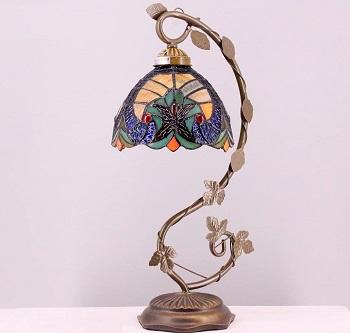 BEST BEDISDE STAINED GLASS DESK LAMP