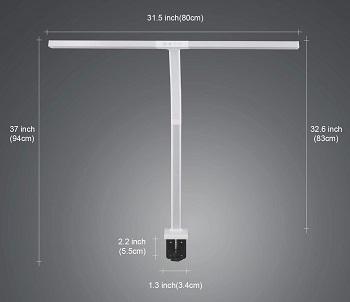 BEST CLAMP HIGH-INTENSITY DESK LAMP