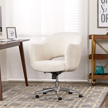 BEST FOR STUDY MODERN DESK CHAIR WITH ARMS