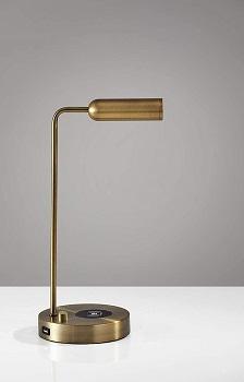 BEST LED GOLD DESK LAMP WITH USB PORT
