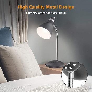 BEST LED GREY DESK LAMP