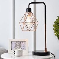BEST LED ROSE GOLD DESK LAMP picks