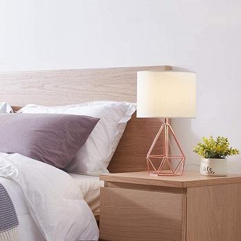 BEST MODERN ROSE GOLD DESK LAMP