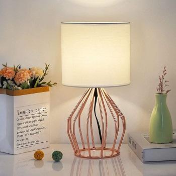 BEST OF BEST ROSE GOLD DESK LAMP