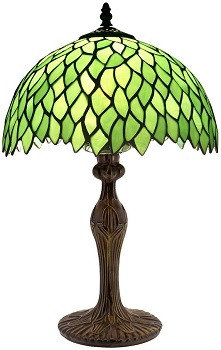 BEST OF BEST STAINED GLASS DESK LAMP