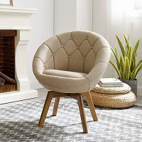 BEST OF BEST TUFTED LEATHER DESK CHAIR Summary