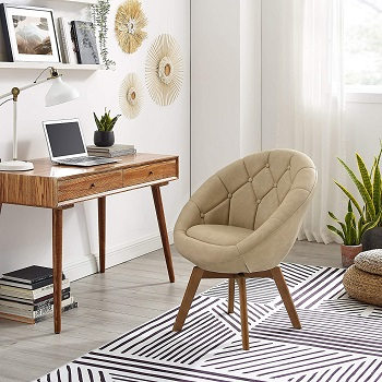 BEST OF BEST TUFTED LEATHER DESK CHAIR