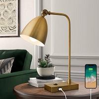 BEST READING GOLD DESK LAMP WITH USB PORT PICKS