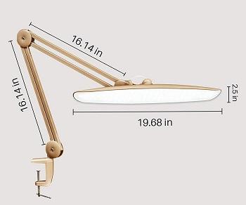 BEST SWING ARM HIGH-INTENSITY DESK LAMP