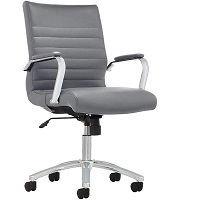 BEST WITH ARMRESTS MODERN GRAY OFFICE CHAIR Summary