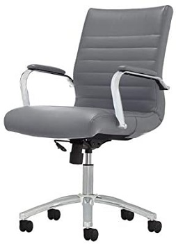BEST WITH ARMRESTS MODERN GRAY OFFICE CHAIR