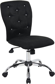 BEST WITH BACK SUPPORT BLACK MODERN OFFICE CHAIR