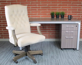 BEST WITH BACK SUPPORT MODERN FARMHOUSE OFFICE CHAIR