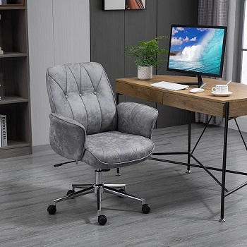 BEST WITH BACK SUPPORT MODERN GREY OFFICE CHAIR