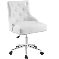 BEST WITH BACK SUPPORT TUFTED LEATHER DESK CHAIR Summary