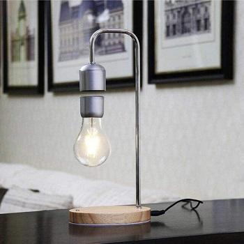 Basic Unique Silver Lamp