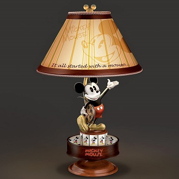 Disney Mickey Mouse Lamp with Spinning Animation
