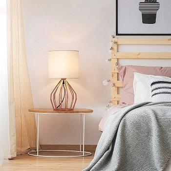 HAITRAL Rose Gold Desk Lamp