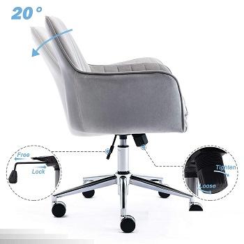 Jhome Home Velvet Chair