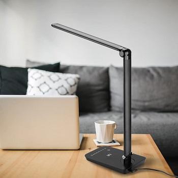 LE Dimmable LED Desk Lamp, 7-Level Brightness