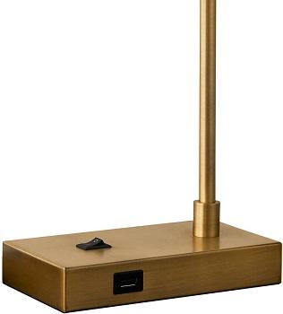 OYEARS USB Desk Lamp Mid Century Modern