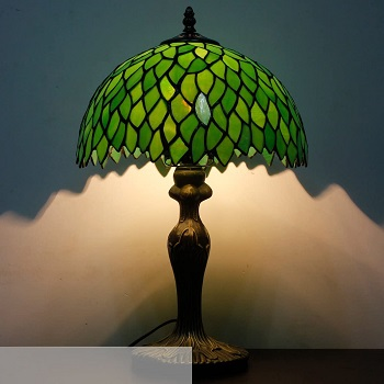 Table Lamp Tiffany Style Bedside