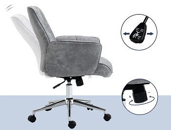 Vinsetto Swivel Computer Chair