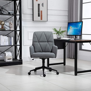 Vinsetto Swivel Office Chair