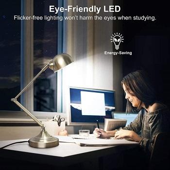 mlambert 3-Color in 1 LED Desk Lamp