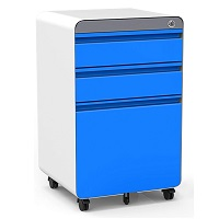 Dprodo 3 Drawers Mobile File Cabinet picks