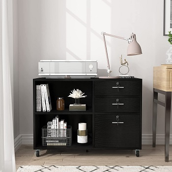 YITAHOME Wood File Cabinet,
